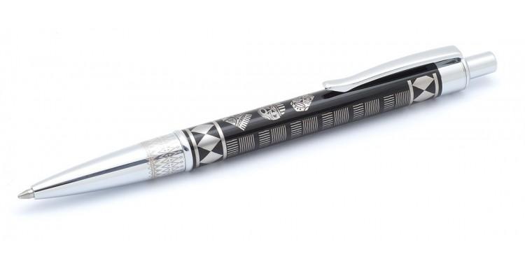 Bolígrafo Inoxcrom BEAT MASSAI negro