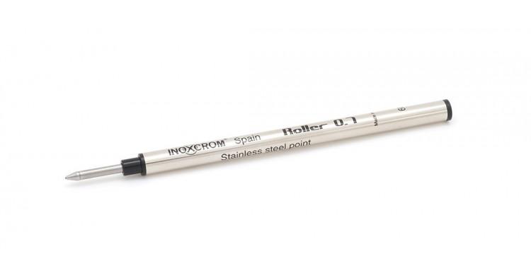 Inoxcrom Metallic rollerball refill black