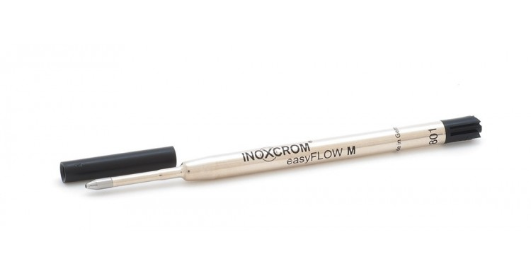 EasyFlow metallic ballpen black refill.