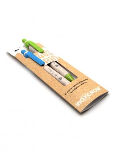 Bolígrafo recargable Inoxcrom Rocker BIO